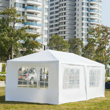 3 x 6m Wedding Party Tent 6 Sides Two Doors Waterproof Tent with Spiral Tubes