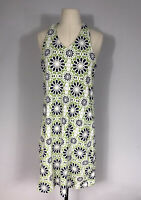 Title Nine White and Multicolored Printed Sleeveless Athletic Dress Women's L