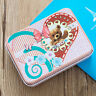 Metal Tin Colors Flip Storage Box Case Organizer For Money Coin Candy Keys WL