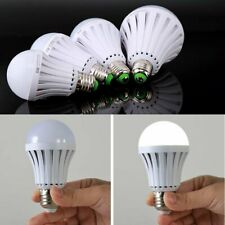 10pcs E27 Emergency LED Light Bulb Rechargeable Intelligent Lamp Magic 7w