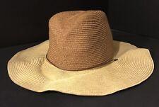 a3de8b55bae51 Goorin Brothers Womens Floppy Straw Beach Sun Hat Foldable OS Money Pouch