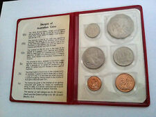 1970 RAM UNCIRCULATED CAPTAIN COOK 6 COIN MINT SET