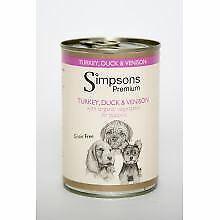 Simpsons Puppy Turkey / Venison / Duck