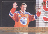 16-17 SP Authentic Wayne Gretzky /99 GOLD Moments Oilers 2016