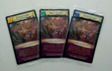 3 Harry Potter TCG Promo Cards Snape's Question Bluebell Flames Strategy Session