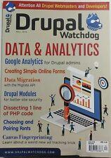 Drupal Watchdog Fall 2016 Data & Analytics Google Migration FREE SHIPPING sb