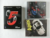 Gran Turismo 5 First Print Limited Edition PS3 Sony Playstation 3 BOX From Japan