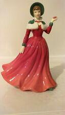 "Vintage Royal Doulton Figurine: Winter'S Day Hn4589 6.75"" 2007 Bone China Rdicc"