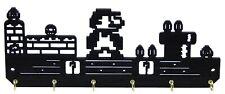 Super Mario Nintendo Gamer Key Rack Hanger Holder Entryway Organizer Hooks Decor