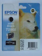 EPSON Original Tintenpatrone T0968 Matte Black schwarz Druckerpatrone R2880
