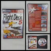 FLIGHT DECK 5  ADD-ON FOR MICROSOFT FSX & FS2004 PC CD-ROM