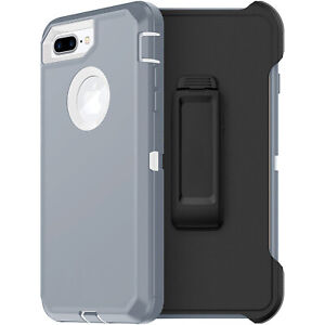 For Apple iPhone 7 / 8 Plus Case Screen Protector Series Fits Defender Belt Clip