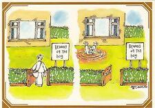 (97663) Cartolina Royal Mail Beware of the Bog Cartone animato SEPR37 1983