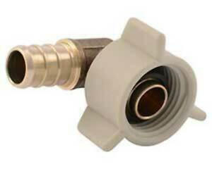 VENTRAL PEX Swivel Elbow 1/2 x 1/2 Female NPT Thread Adapter Fitting