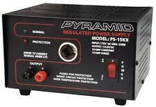 Pyramid PS15KX Power Supply 12 Amp W/Cigar Plug