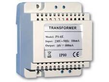 Trafo 18V DC 800mA Gleichspannungs Transformator Gleichstromtrafo Elektrogeräte