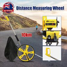 Portable 10KM Distance Measuring Wheel Meter Trundle Walking Tape Measure D
