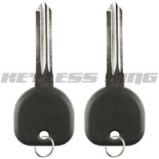 2x Keyless Entry Remote Fob Control Car Ignition Door Chip Key for PK3 B107P