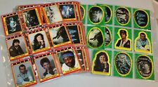 1979 Alien Topps Complete 84 Trading Card & 22 Stickers Set MINT Giger Movie HTF