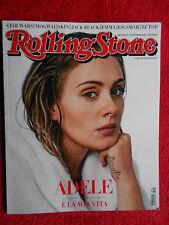 ROLLING STONE MAGAZINE 13/2015 Adele ZZ Top Skin Emma Marrone Kurt Cobain No cd