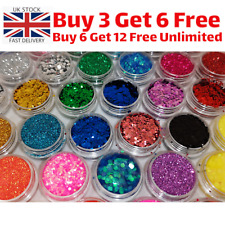 Eco-Friendly Cosmetic Bio Glitter Biodegradable Party Face Body Eyes Festival