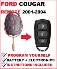 Ford Cougar KA Romote Control Fob keyless Entry 1999 2000 2001 2002 2003 2004