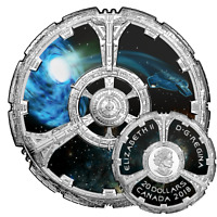 STAR TREK – DEEP SPACE NINE – 2018 $20 1 oz Fine Silver Coin