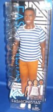 BARBIE COLLECTOR  FASHIONISTAS BARBIE  DOLL AA  KEN (18)  , NEW