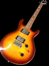 NEW TOBACCO BURST DOUBLE CUTOUT 6 STRING ELECTRIC GUITAR TREMOLO CUSTOM