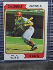 1974 Topps Pete Rose #300 Reds C456