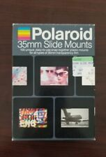 Polaroid Caches 35mm Snap-together Slide Mounts 100 mounts new in box