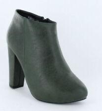 41 Scarpe da donna Stivaletti verde