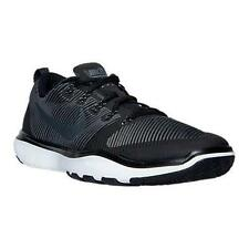 833258 001 NIKE FREE TRAINER VERSATILITY Men's Shoes Black/White MSRP $100 NIB
