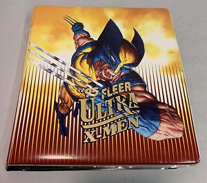 1995 Fleer Ultra X-MEN Binder W/ DC Skybox Batman Trading Cards & Masterprints
