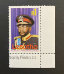 Lesotho 1976, 1r King Moshoeshoe II sg309 MNH