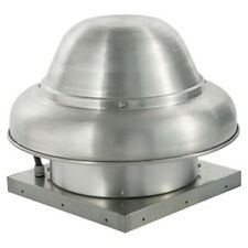 """2500 Cfm Direct Drive Downblast Exhaust Fan with 15.75"""" Wheel (0.75 Hp / 115 V)"""