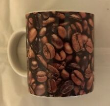 2007 Starbucks Espresso Demitasse Coffee Beans Mini Mug Cup 2.9 oz EUC