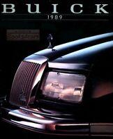 BUICK 1989 SALES BROCHURE BOOK