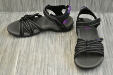 **Teva Tirra 4266 Sandal - Women's Size 10 - Black