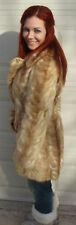 Vintage Tiger/Lion Design Topal Vintage Retro Long Mink Classic 1950s Fur Coat