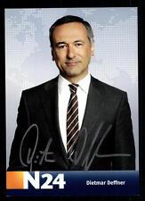 Dietmar Deffner N24 Autogrammkarte Original Signiert TOP +88780