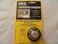 HKS Speedloader;  NEW;  25-5;  6-Shot;  45 Long Colt;  Fast & Dependable