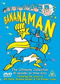 Bananaman The Ultimate Collection (40 Episodes on 3 Discs) [New Sealed] (L33)
