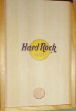 "Hard Rock Cafe HONG KONG 1994 ""Rock The City"" 5 GUITARS Boxed PIN Set -HRC #3036"