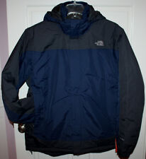 NWT Mens The North Face Irraddaski HyVent Deep Water Blue Jacket Coat Size XL