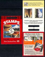 New Zealand 1999 Scenic/Mountain 10v s/a bklt n15958d