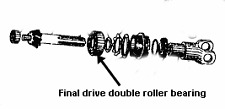 Phoenix CJ750 final drive pinion double roller bearing