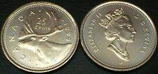"""VERY SCARCE"" 1999 ""P"" 25 cent CANADA TEST TOKEN ""RARE"""
