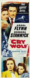 Cry Wolf - 1947 - Errol Flynn Barbara Stanwyck Peter Godfrey Vintage Mystery DVD