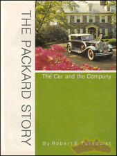 PACKARD BOOK TURNQUIST HISTORY STORY CAR COMPANY NEW
